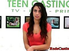 Brutal casting casting for innocent teen