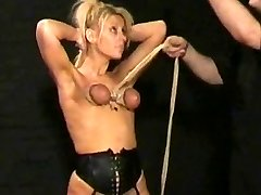 ash-blonde painslut tortured