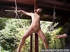 Japanese Bondage outdoor (uncensored)