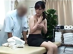 Striking Oriental babe with a splendid donk gets satisfied by