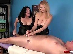 Tag-Squad Domination Massage