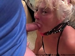 Poor Little Anal Granny Gets Used