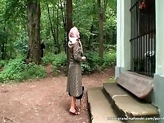 Grandma gets tied and fucked