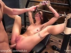 Bad Girl Gets Harsh Anal Punishment