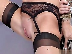 Busty cowgirl rectal squirting