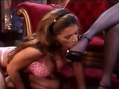 Sole fetish lesbians with stockings