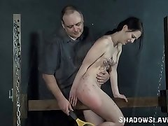 Teen first-timer bdsm and extreme pussy torture to tears of kink