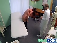 FakeHospital Physician prescribes his cock to help relieve anguish