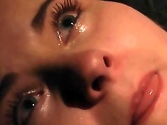 Orgasm and crying in pain in Bondage & Discipline bondage