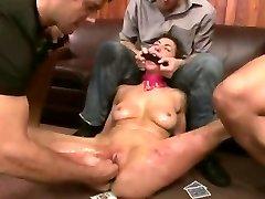 Brutal BDSM Double Penetratopn Gangbang