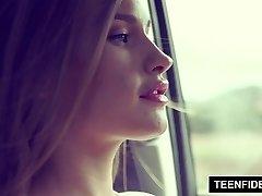 TEENFIDELITY - Teenage Callgirl April Brookes Harsh Fuck