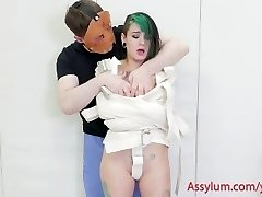 Teen punk damsel punished and exploited by sicko psychiatrist