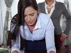 TeenCurves - Keisha Grey Fucks Enslaved Assistant Karlee Grey