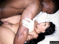 BLACKEDRAW Gigantic latina ass is dominated by big black cock