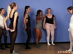Brit ballet dancer dominates instructor