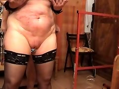 Boning the slave from behinde