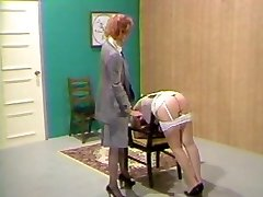 Secretary Spanked