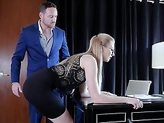 Submissived - Shy Secretary Muff Destroyed By Boss