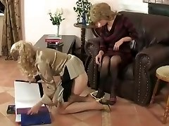 young girls get punished by mature damsels manager
