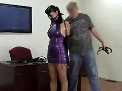 Secretary Instructed In Latex And Leather