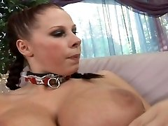 Dark-hued cock has to serve two busty dame bosses