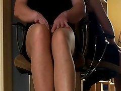 Slave in office dress