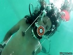 Drea Morgan Hog-tied Underwater