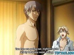 Hentai gay men having man meat in anal romp and fu