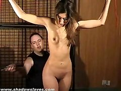 Indian Sahara Knite in stiff slapping and electro bdsm
