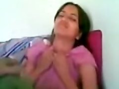 Desi Bangla College Students first time Bashful girl