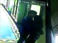 Actor Simbu Smooching Harshika  Caught on Webcam