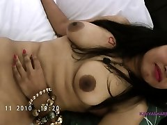 Big Boob Indian Slut Amateur Stunner Kavya Wanking With