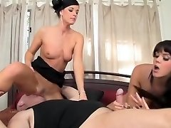 Fabulous pornographic stars India Summer and Alison Tyler in exotic big butt, cuni sex scene
