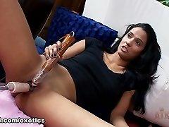 Finest pornstar Karmen Bella in Incredible Fake Penises/Toys, Solo Girl adult vid