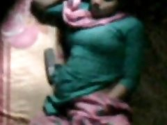 barishal gal happy masturbating in her couch seen by neighbor