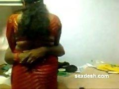 Romantic Dharmapuri Sivaraj with lush Tamil Aunty