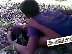 индийское деревенских друзей, секс на улице