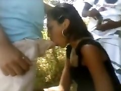 Unbelievable Unexperienced clip with Threesome, Outdoor scenes
