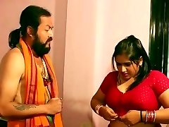 Swamiji enjoying with sexy Bhabhi