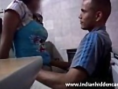 stunning red-hot desi amateur gf secretly in workplace