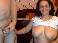 Sexy Indian Grandma with her Husband