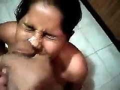 Indian stunner gives blowjob in warm pov scene