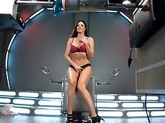 Exotic milf, fetish gonzo pin with naughty pornstar India Summer from Fuckingmachines