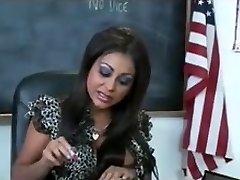 Sexy bit tit Indian school educator