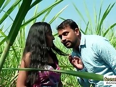 Desi indian woman romance in the outdoor jungle - teen99 - indian short film