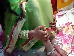 just married bride Saree in total HD desi vid home mast chu