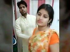 Desi sexy friend plus-size wife fucking