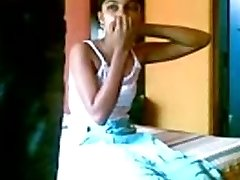 Indian Couple Fellating And Using Boinking Cream
