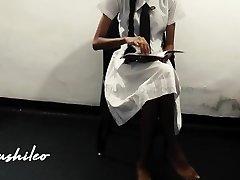 sri lankan school gal and tutor fresh seep පංතියෙ සර් එක්ක රූම් ගිහින්