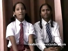 Real Indian School Girls In Uniform Unclothe Naked